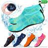Mens Womens Water Shoes Aqua Socks Beach Swim Wetsuit Shoes Non Slip UK Size