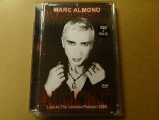 MUSIC DVD + CD / MARC ALMOND - LIVE AT THE LOKERSE FEESTEN 2000