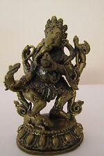 Lord Ganesh Lakshmi Ganapati Ganesha Hinduism Brass statue Amulet
