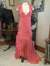 NWT Free People Sundress Hibiscus 🌺 Pink. Size 12. Retail $ 128.