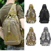 Tactical Military Bag Backpack Camping Hiking Sling Hunting Rucksack Molle bag