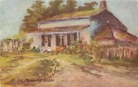 Cal Plein Air Art Old Monterey Adobe 1920s Postcard 20-10252