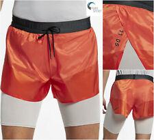 NIKE TECH Pack  2 -IN-1  New Mens RUNNING Shorts Medium AQ6442-891