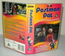 Postman Pat - Big Surprise - Children's VHS Tape & Case. VHS, Collectable