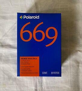Polaroid 669 Film 8.5 x 10.8 20 photos Exp 03/2009
