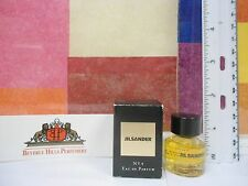 VINTAGE JIL SANDER N 4 EAU DE PARFUM  0.17 oz MINIATURE NEW IN BOX