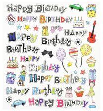 Sticker Geburtstag Happy Birthday Einladung Kinder Geburtstag Party Feier