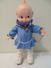 Cameo Jesco Rose O'Neill Kewpie Girl Ice Skater Doll w Box 1983 1984 Olympics?