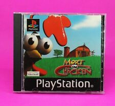 MORT THE CHICKEN PS1 🔮AUSSIE SELLER🔮 (PLAYSTATION ONE) NO BOOKLET GAME !!!