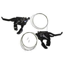 Shimano ST-EF51 Set L3 x R7 Shifter/Brake Lever Combo (21 Speed) Black V-Brake