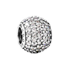 Genuine Authentic Pandora Pavé Ball Charm 791051CZ