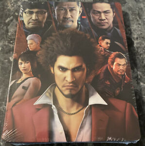 New Sealed Yakuza Like A Dragon Limited Edition Steelbook Only - NO GAME