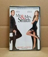 Mr. & Mrs. Smith (DVD, 2005, Widescreen) Brad Pitt Angelina Jolie NEW & SEALED