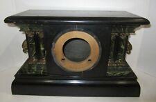 Antique E. Ingraham Adamantine Mantel Clock Case