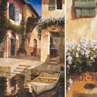 """24""""x36"""" LUNCHTIME by GILLES ARCHAMBAULT EURO VILLAGE CANVAS"""