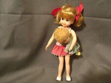 "1965 Mattel Tutti 6.5"" Buffy Doll + Mrs. Beasley, Tv'S Family Affair"