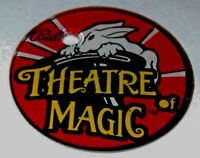 Theatre Of Magic Pinball Machine Original NOS Promo Keychain Bunny Rabbit Bally