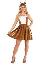 Women's Dazzling Deer Fawn Bambi Costume Dress SIZE S (Used)