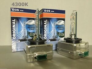 2PCS NEW OEM D3S 66340 4300K 35W HID XENON LIGHT BULBS SET FOR OSRAM