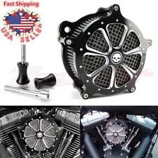 Mesh Air Cleaner Intake Filter CNC For Harley Street Glide Road King 1997-2007