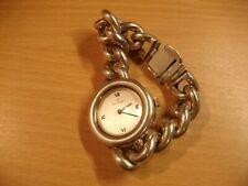 Alte Golana Damenuhr Armbanduhr Silber 925 Swiss Made Trachtenuhr