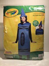 Crayola Crayon Unisex Halloween Costume - Color Blue - Size Adult S/M