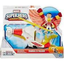 MARVEL SUPER HERO ADVENTURES FALCON TALON COPTER VEHICLE SET PLAYSKOOL