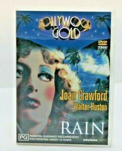 Rain Joan Crawford Hollywood Gold DVD Free Post