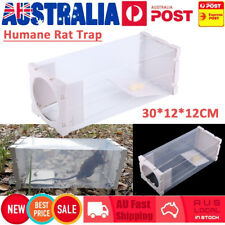 Multi Humane Rat Trap Cage Live Animal Pest Rodent Mice Mouse Control Bait Catch
