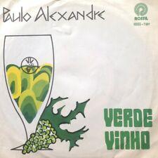 "Paulo Alexandre - Verde Vinho (7"", Single) (Very Good Plus (VG+))  - 1032465939"