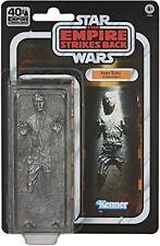 Star Wars Black Series 40th Anniversary Han Solo Carbonite Exclusive NIB