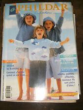 Phildar créations N°329 Printemps Eté 2000 Enfants Tricot Couture 30 modèles