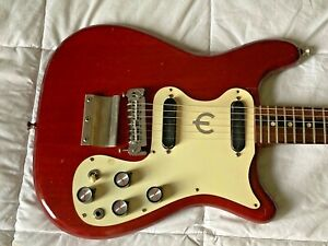 Vintage - Epiphone Olympic Double with Maestro 1965 -68 Cherry Guitar
