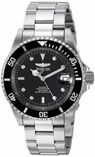 Invicta Pro Driver 8926OB 40mm Stainless Steel Black Case Men's Watch - Silver