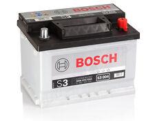 Autobatterie BOSCH  12V 53Ah 470 A/EN S3 004 53 Ah TOP ANGEBOT SOFORT & NEU