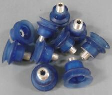 """Lot of 10 Rubber Bellows Vacuum Cup 3/4"""" mnpt"""