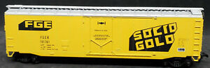 Athearn FGE Reefer Solid Gold, and The Chiller FGER #191761, VINTAGE HO BOXCAR