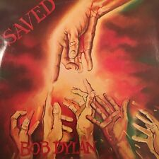 "BOB DYLAN SAVED 12"" VINYL LP 1980 ORIGINAL AUSTRALIAN PRESSING SBP 237458 PROMO"