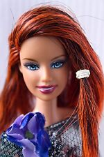 Barbie Doll Fashion Fever Rerooted Hybrid Made to Move Body Redressed OOAK