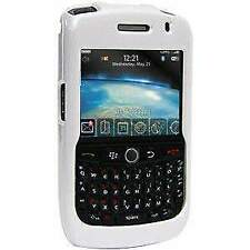 AMZER Polished White Snap on Crystal Hard Case For BlackBerry Curve 8900