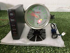 Toyota TRD RPM Tachometer 80 mm Meter DEFi Supra MR2 AE86 Celica JZA80 70 MRS