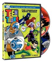 TEEN TITANS - COMPLETE SEASON 5 -  DVD - UK Compatible - New & sealed