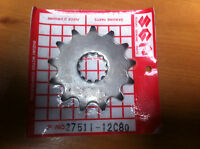 GENUINE SUZUKI  RM ?? FRONT DRIVE SPROCKET 13 TOOTH   27511-12C80  NEW