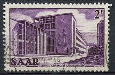 Saar SG#317, 2f Lydwigs High School Definitive Used #A81255