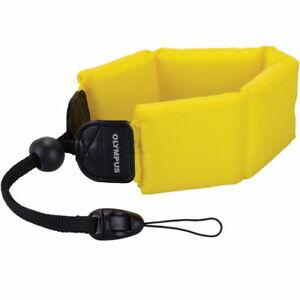 Olympus Floating Wrist Strap (Yellow)  Original in Retail