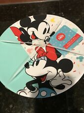 New Disney Eats Mickey & Minnie Mouse Icon & Sprinkles Plates ~ Set Of 4