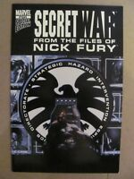 Secret War From The Files of Nick Fury #1 Marvel Comics 2005 Sepcial Edition 9.6