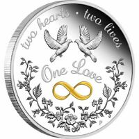 2020 One Love 1oz Silver Proof Coin