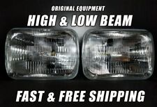 OE Front Halogen Headlight Bulb For Plymouth Expo 1987-1989 Low & High Beam x2