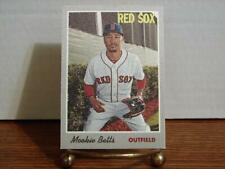 2019 Topps Heritage Mookie Betts Cloth Sticker